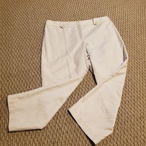 Ann Taylor sz 8P capri, never worn, soft cotton